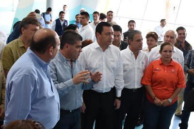 Miguel Riquelme explicó las labores que se hacen en este centro.