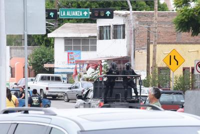 Se montó un fuerte operativo de seguridad en las inmediaciones del complejo deportivo y cultural.