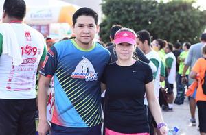29092016 CORREDORES.  José y Ana.