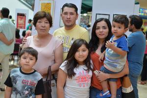 30092016 Fernanda, Ramiro, Karina, Heber, Heber y Mercedes.
