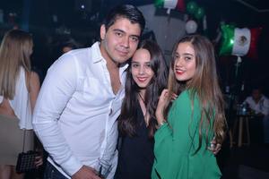 Lalo, Sofía y Alondra