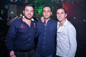 Luis, Julio y Gerardo