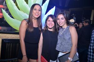 Mónica, Zabrosami y Gaby