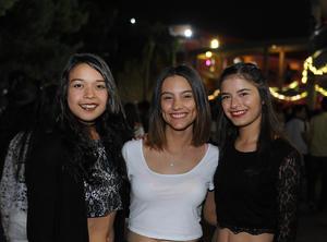 Daysi, Michelle y Ana