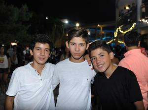 Fernando, Juan y Salvador
