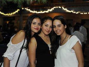 Sofía, Karla y Nellie