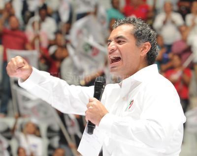 Ochoa Reza hizo un llamado a la unidad de la militancia.