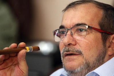 """""""La paz triunfará"""", pronosticó el líder de las FARC."""