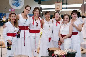 02102016 CONCIERTO DE CUENCOS.  Mely, Mayoya, Gabriela, Pilar, Tere, Ale y Blanca.