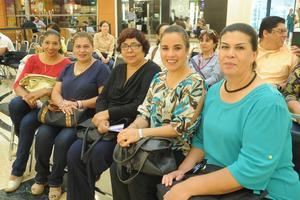 03102016 Alicia, Rocío, Manuela, Mónica e Inés.