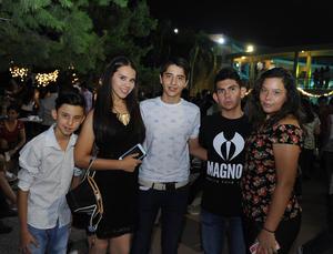 04102016 Javier, Natasha, José Luis, Orlando y Zitlali.