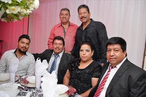 04102016 Antonio, Francisco, Alfredo, Alfredo, Verónica y Homero.