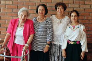 05102016 Sarita, Cristina, Yolanda y María Estela.