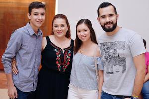 06102016 Ana, Óscar, Iker y Natalia.
