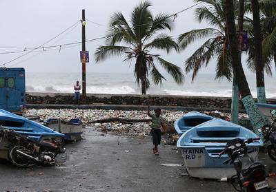 """""""Matthew"""", el huracán más poderoso en el Caribe desde Félix en el 2007."""