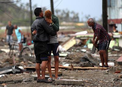 En Haití el huracán dejó 478 muertos, según dato oficiales.