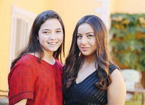 07102016 AMIGAS.  Lorena y Andrea.