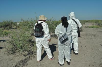 También se contó con la participación de la Policía Científica Federal.