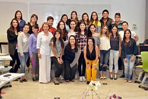 08102016 ENTUSIASTAS.  Alumnos que participaron en la Semana i del Tec de Monterrey.