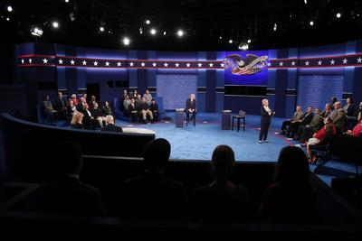 Se celebró el segundo debate rumbo a las elecciones presidenciales de Estados Unidos.