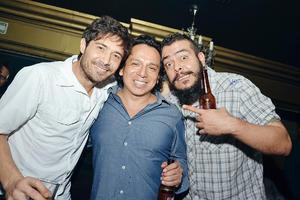 10102016 DE ANTRO.  Héctor, José Luis y Leo.