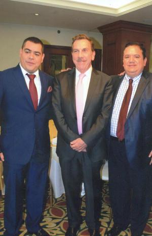 09102016 Lic. Ernesto Herrera Reza, Lic. Javier Laynez Potisek, Lic. Jesús Sotomayor Garza.