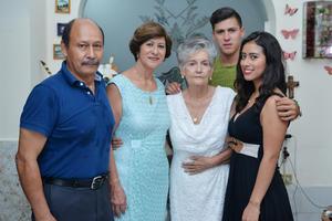 09102016 Eduardo Espinosa, Laura Juárez, Brunhilda Álvarez, Diana Laura y Gilberto Espinosa.