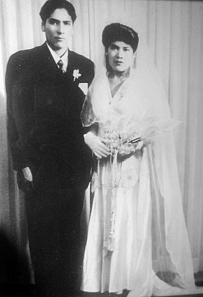 02102016 Sr. Pedro Rosales (f) y Sra. Carlota Puga (f).