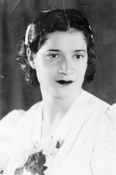 02102016 Sra. María Hernández de Salas en 1940.