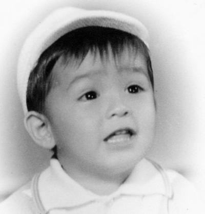 02102016 Roberto Tuda Rivas a la edad de 2 años, hijo de la Sra. Amparo Rivas y Dr. Roberto Tuda.
