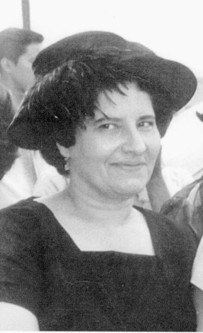 09102016 Leonor García de Reyes en la década de los 60's.