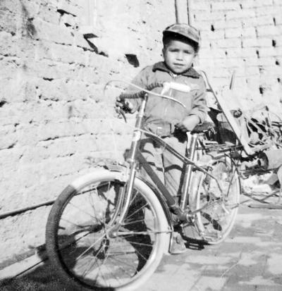 09102016 Jesús Graciano Marín, a la edad de 4 años, en 1961, en San Pedro, Coahuila.