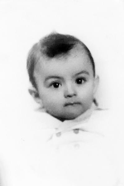 09102016 Enrique Rodríguez Hernández a la edad de un año.