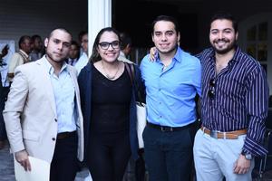 13102016 Raúl, Cynthia, Rafael y Gerardo.