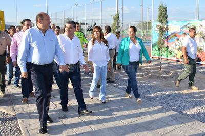 Estuvo presente el gobernador Rubén Moreira.
