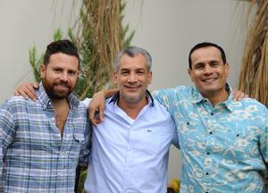 Beto, Arturo y Víctor