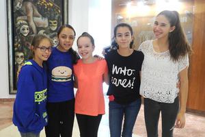 Daniela, Camila, Marian, Mariangel y Alexandra