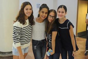 Margot, Yemile, Isabela y Andrea