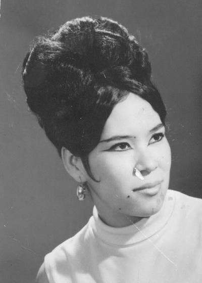 16102016 Martha Hernández en 1967.