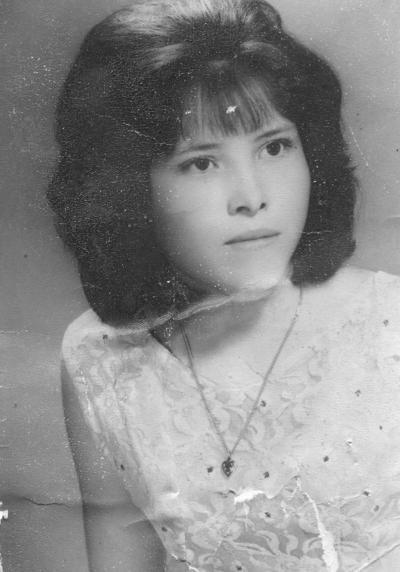 16102016 Sra. Graciela Lara de Rivera en 1966.