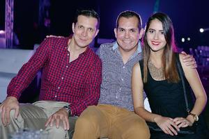 16102016 Alberto, Carlos y Debbie.