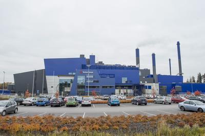 VAANTA (FINLANDIA).- Fotografía de la planta de energía a partir de desechos hoy, lunes 17 de octubre de 2016, en Vaanta (Finlandia). La planta es la más grande de Finlandia en convertir desechos en electricidad EFE