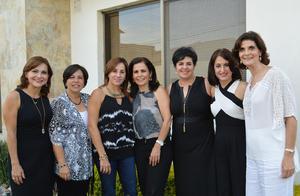 19102016 Lily, Rosy, Pilar, Marcela, Angélica, Pilar y Giovanna.