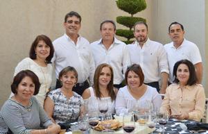 19102016 Gaby, Ángel, Eduardo, Alfredo, Armando, Irma, Beatriz, Lilia, Teresa y Martha.