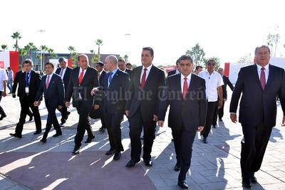 Al evento asistió el gobernador Rubén Moreira; el secretario de Desarrollo Económico, Antonio Gutiérrez Jardón; el secretario de Economía, Ildefonso Guajardo, entre otros funcionarios estatales y municipales.