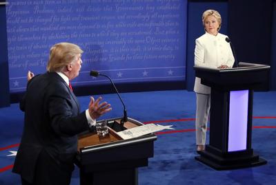 Durante el debate se tocaron temas como la inmigración, la política exterior y la economía de Estados Unidos.