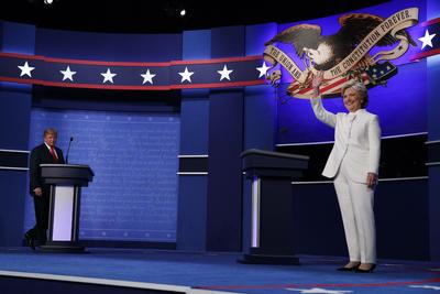 Donald Trump y Hillary Clinton sostuvieron su último debate presidencial rumbo a las elecciones del 8 de noviembre.