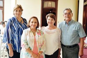20102016 ASISTEN A CONCIERTO.  Bertha, Tere, Lucy y Miguel.