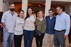 21102016 Saulo, Monse, Yoleti, Sara, Javi y Jorge.