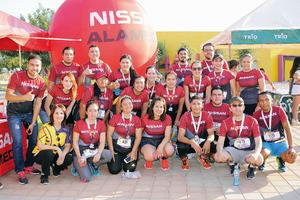 22102016 ATLETAS.  Equipo de corredores Nissan Alameda.